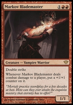 Magic the Gathering Dark Ascension Single Markov Blademaster - NEAR MINT (NM)