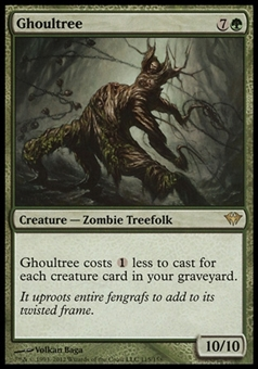 Magic the Gathering Dark Ascension Single Ghoultree UNPLAYED