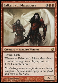 Magic the Gathering Innistrad Single Falkenrath Marauders Foil UNPLAYED
