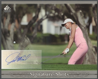 2005 SP Signature #JM Jill McGill Signature Shots 8x10 Rookie Auto