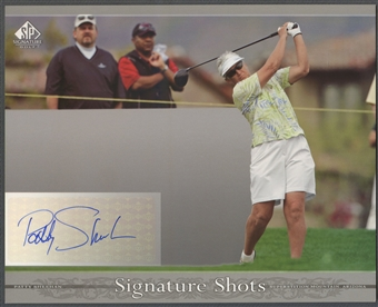 2005 SP Signature #PS Patty Sheehan Signature Shots 8x10 Auto