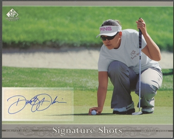 2005 SP Signature #DD Dorothy Delasin Signature Shots 8x10 Rookie Auto