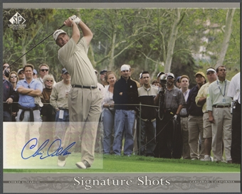 2005 SP Signature #CD Chris DiMarco Signature Shots 8x10 Auto
