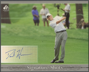2005 SP Signature #DH David Hearn Signature Shots 8x10 Rookie Auto