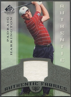 2005 SP Signature #PH Padraig Harrington Authentic Fabrics Singles Shirt