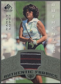2005 SP Signature #NL Nancy Lopez Authentic Fabrics Singles Shirt