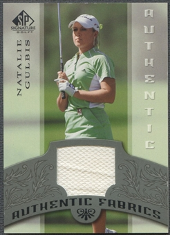 2005 SP Signature #NG Natalie Gulbis Authentic Fabrics Singles Shirt
