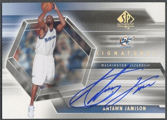 2004/05 SP Authentic #AJ Antawn Jamison Signatures Auto