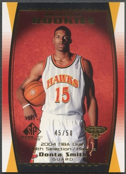 2004/05 SP Game Used #126 Donta Smith Parallel Rookie #45/50