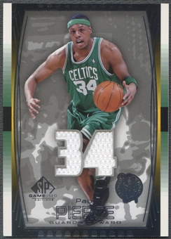 2004/05 SP Game Used #61 Paul Pierce Jersey