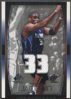 2004/05 SP Game Used #64 Antawn Jamison Jersey