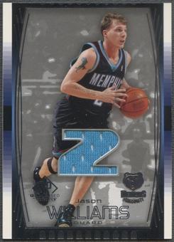 2004/05 SP Game Used #74 Jason Williams Jersey
