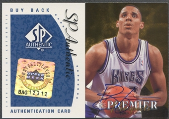1999/00 SP Authentic #18 Brian Grant 94-5SP/NNO BuyBack Auto