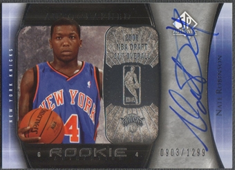 2005/06 SP Authentic #115 Nate Robinson Rookie Auto /1299