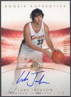 2004/05 SP Authentic #178 Luke Jackson Limited Rookie Auto #030/100