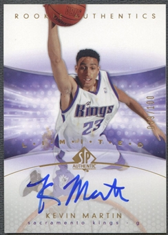 2004/05 SP Authentic #162 Kevin Martin Limited Rookie Auto #039/100
