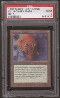 Magic the Gathering Beta Single Illusionary Mask PSA 9
