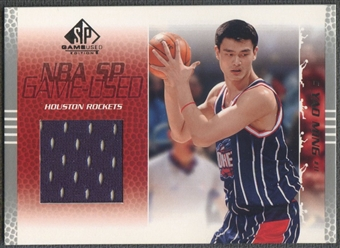 2003/04 SP Game Used #94 Yao Ming Jersey
