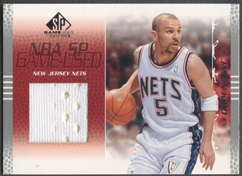 2003/04 SP Game Used #56 Jason Kidd Jersey