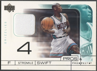 2001/02 Pros and Prospects #SS Stromile Swift Game Jersey