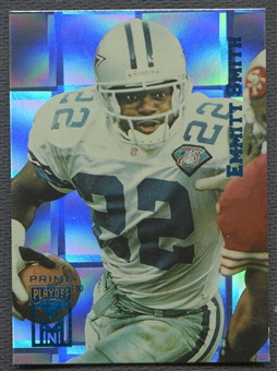 1995 Playoff Prime #22 Emmitt Smith Minis