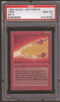 Magic the Gathering Beta Single Fork PSA 10