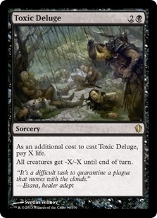 Magic the Gathering Commander 2013 Edition Single Toxic Deluge - NEAR MINT (NM)