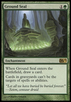Magic the Gathering 2013 Single Ground Seal - NEAR MINT (NM)