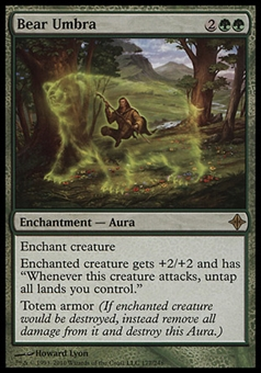 Magic the Gathering Rise of the Eldrazi Single Bear Umbra - NEAR MINT (NM)