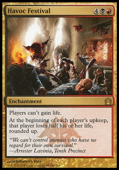 Magic the Gathering Return to Ravnica Single Havoc Festival Foil - NEAR MINT (NM)