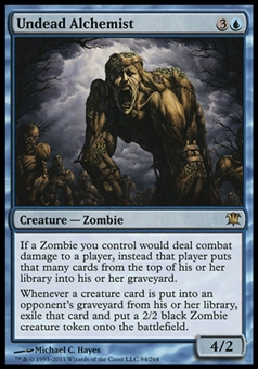Magic the Gathering Innistrad Single Undead Alchemist Foil - NEAR MINT (NM)