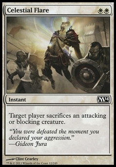 Magic the Gathering 2014 Single Celestial Flare Foil - NEAR MINT (NM)