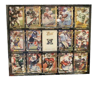 1991 Action Packed Football Factory Set