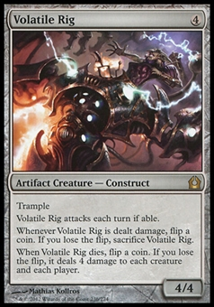 Magic the Gathering Return to Ravnica Single Volatile Rig Foil - NEAR MINT (NM)