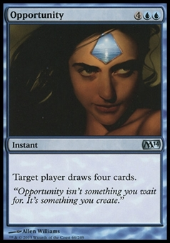 Magic the Gathering 2014 Single Opportunity Foil - NEAR MINT (NM)