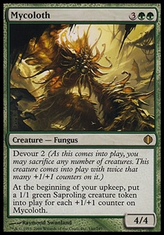 Magic the Gathering Shards of Alara Single Mycoloth Foil - NEAR MINT (NM)