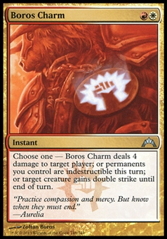 Magic the Gathering Gatecrash Single Boros Charm Foil - NEAR MINT (NM)
