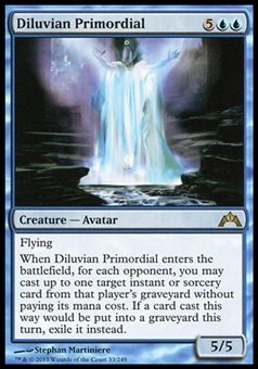 Magic the Gathering Gatecrash Single Diluvian Primordial Foil - NEAR MINT (NM)