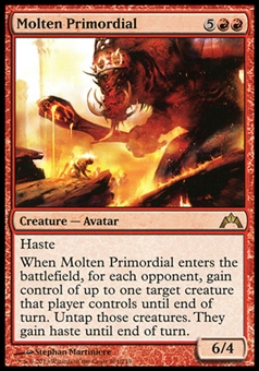 Magic the Gathering Gatecrash Single Molten Primordial Foil - NEAR MINT (NM)