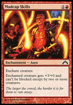 Magic the Gathering Gatecrash Single Madcap Skills Foil - NEAR MINT (NM)