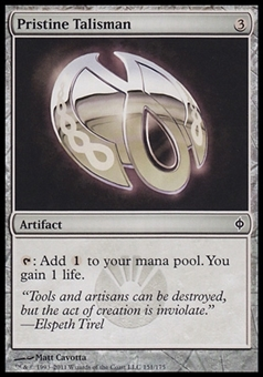 Magic the Gathering New Phyrexia Single Pristine Talisman Foil - NEAR MINT (NM)