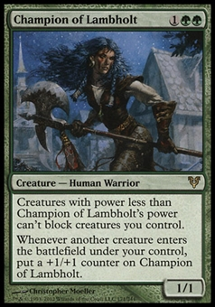 Magic the Gathering Avacyn Restored Single Champion of Lambholt x4 (Playset)