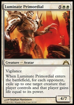 Magic the Gathering Gatecrash Single Luminate Primordial  x4 (Playset) - NEAR MINT (NM)