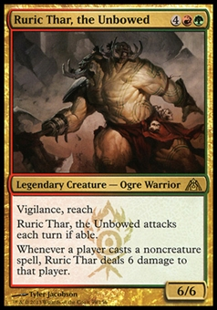 Magic the Gathering Dragon's Maze Single Ruric Thar, the Unbowed x4 (Playset)