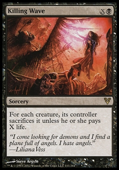Magic the Gathering Avacyn Restored Single Killing Wave  x4 (Playset) - NEAR MINT (NM)