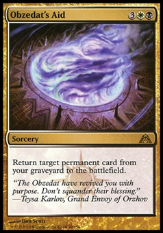 Magic the Gathering Dragon's Maze Single Obzedat's Aid  x4 - NEAR MINT (NM)