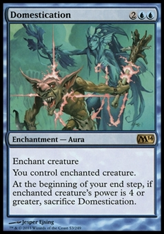 Magic the Gathering 2014 Single Domestication  x4 (Playset) - NEAR MINT (NM)