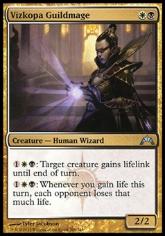 Magic the Gathering Gatecrash Single Vizkopa Guildmage Foil - NEAR MINT (NM)
