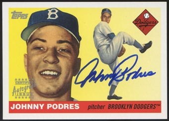 2004 Topps Heritage #JP Johnny Podres Real One Auto