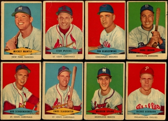 1954 Red Heart Baseball Complete Set (G-VG)